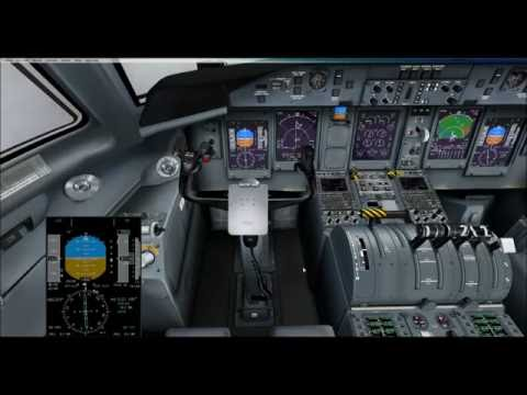 Majestic Q400 Landing In Severe Winds Brisbane YBBN ( real world weather )