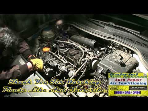 Water Pump Replacement Part 1. 2012 Volkswagen CC 2.0 Turbo - YouTubeYouTube