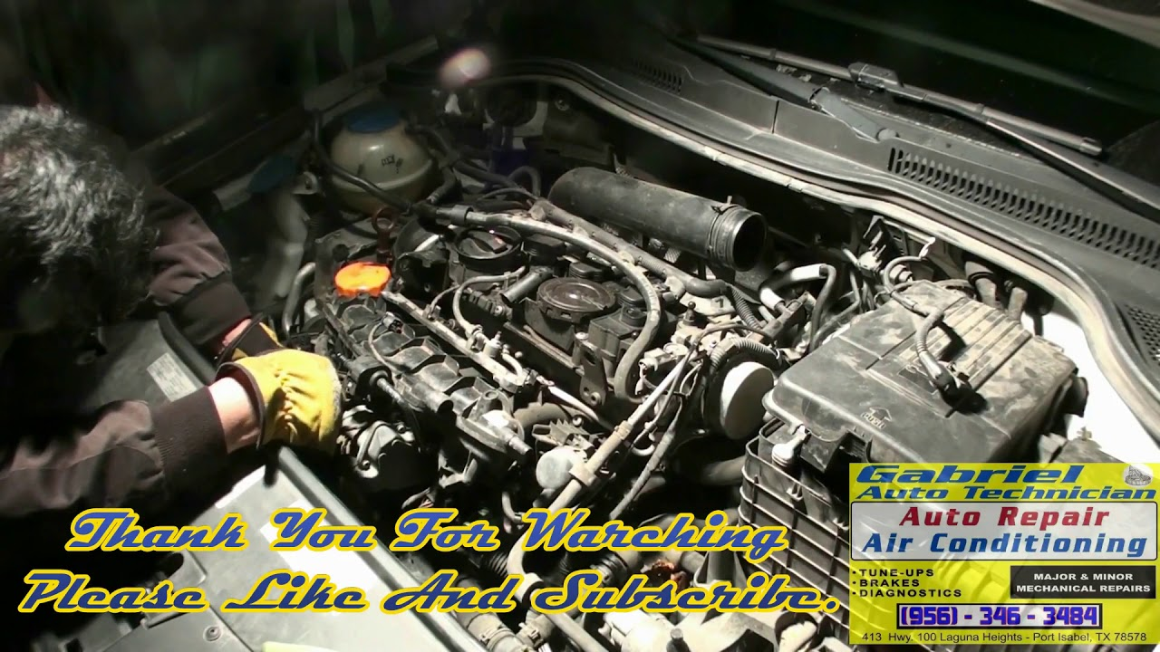 small resolution of water pump replacement part 1 2012 volkswagen cc 2 0 turbo
