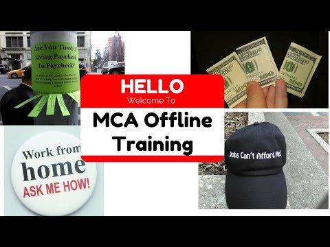 MCA Offline Marketing 2017 Training Tools With Alex Haney
