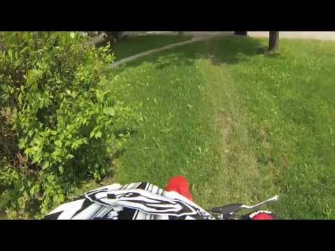 Onboard GoPro riding with Dilly