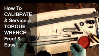 Torque Wrench Service and Calibration - Got loose Nuts?!