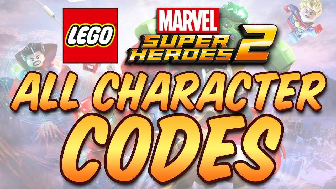 Lego Marvel Super Heroes 2 - All Character Cheat Codes