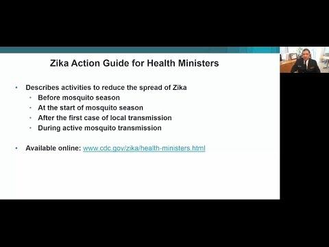 Nationwide Zika Health Ministers Guide Webinar