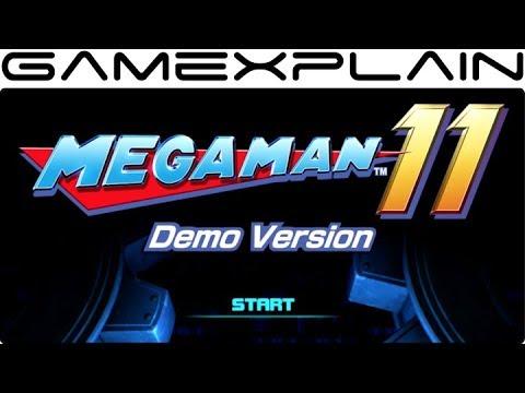 Mega Man 11 Demo Version - Game & Watch (Nintendo Switch)