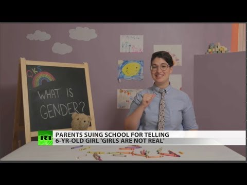 You're not a girl, you're just a pronoun – teacher sued