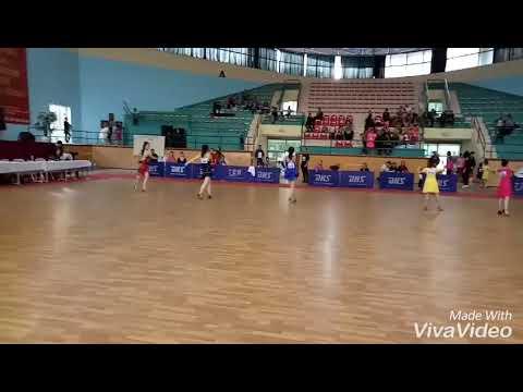 Hạng F1 Thiếu niên 1 Các CLB Latin - Điệu C - GIẢI VÔ ĐỊCH KHIÊU VŨ THỂ THAO HẢI PHÒNG MỞ RỘNG 2017