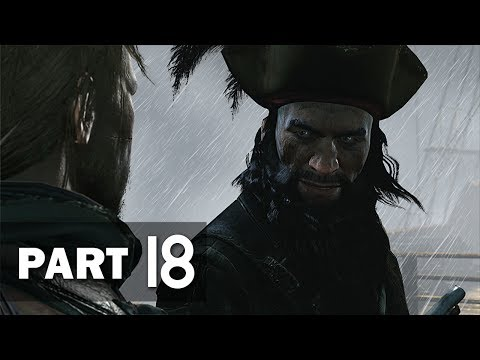 Assassin's Creed 4: Black Flag - Walkthrough Part 18 - The Siege of Charles-Towne (100% Sync)