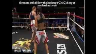Cris Cyborg vs Jorina Baars Lion Fight 14 Video
