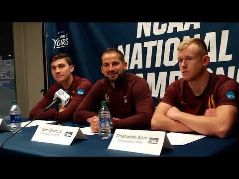 NCAA DII Mens Soccer National Champs Univ Of Charleston Post Match Interview