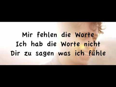 Tim Bendzko - Wenn Worte Meine Sprache Wären (Lyrics On Screen) [HD&HQ]