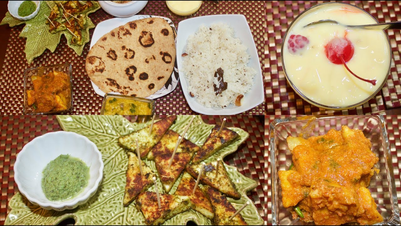 Special indian veg thali special thali for guest simple living youtube premium forumfinder Choice Image