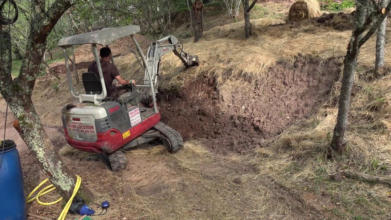 Comment Faire Un Terrassement En Pente potager en pente : le terrassement