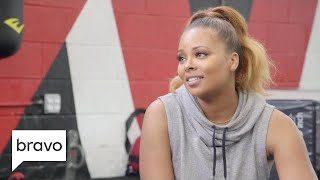 RHOA: Eva Marcille Throws Some Shade Marlo Hampton And Cynthia Bailey