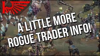 A LITTLE Rogue Trader Leakage, And Let's Talk About The Kill Team Factions thumbnail