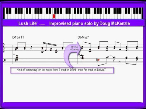 Lush Life  advanced jazz piano lesson