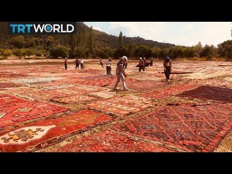 Handmade carpets industry flourishes in Turkey | Money Talks