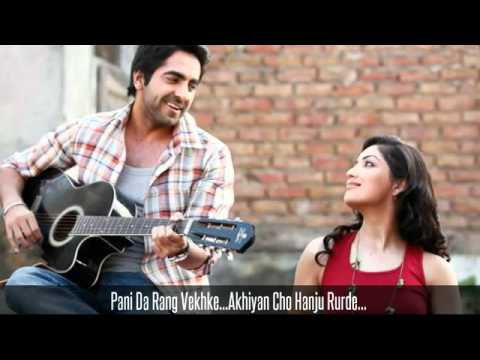 Vicky Donor  Pani Da Rang  New Hindi Song 2012 April 2012  YouTubeflv