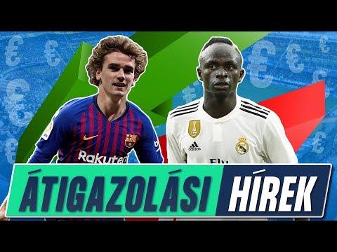 A Barca Griezmann-t akarja! Sadio Mané a Real Madridban?   Átigazolási Hírek