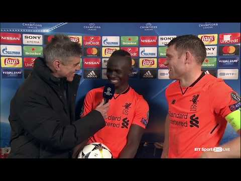 "Sadio Mane: ""We score all the time!"" - Porto 0-5 Liverpool"