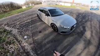 Audi RS3 Sportback 2018 REVIEW POV Test Drive on AUTOBAHN by AutoTopNL