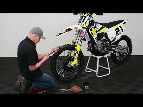 Motorcycle Axle Greasing // AJAX Tech Tips