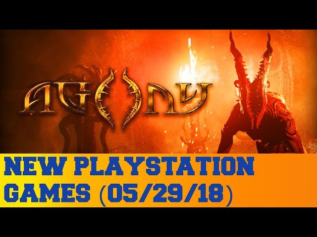 New PlayStation Games for May 29th 2018
