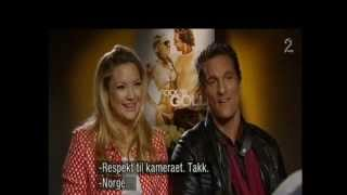 Kate Hudson & Matthew McConaughey-FooL's GoLd interview