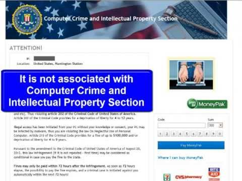 Computer Crime and Intellectual Property Section virus