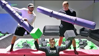 EXTREME FOAM PIT CHALLENGE