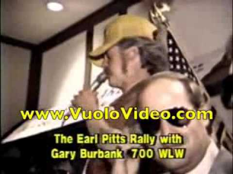 Gary Burbank Earl Pitts Governor WLW Radio 1987