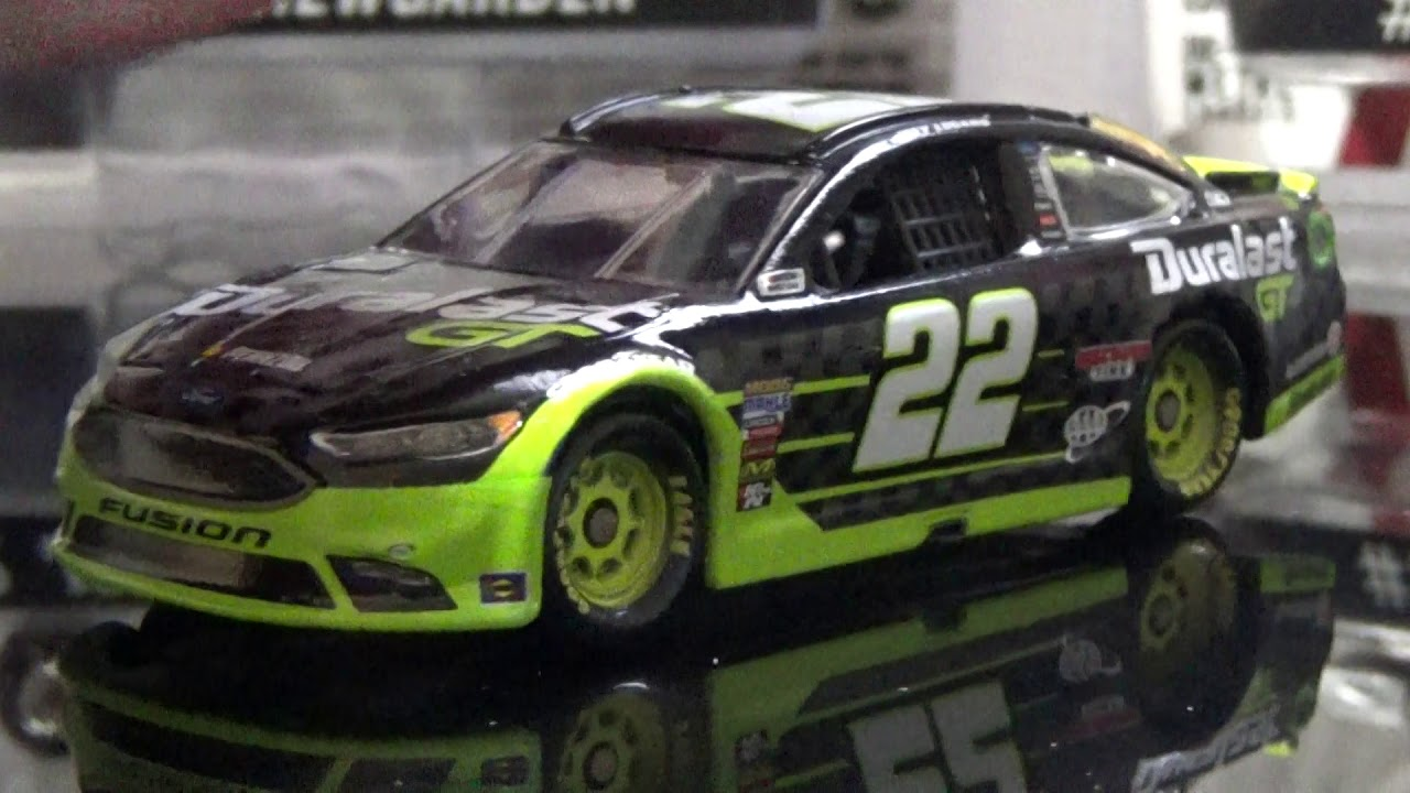 Joey Logano  Duralast Gt Fordcast Review