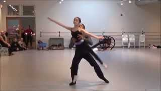 """Reel Time Vol 2 - In Rehearsal: Katie L. as Clara in Act 1 of """"The Nutcracker."""""""