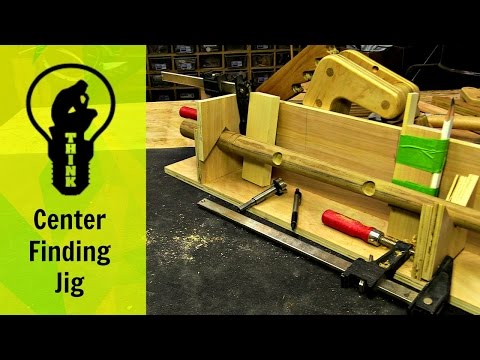 Simple Homemade Centering Jig for Woodworking!