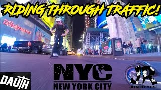 RIDING NYC WITH JACK DAUTH!