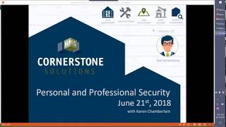 Personal/Professional Security 6-21-18