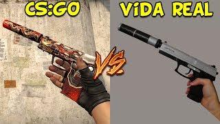 PISTOLAS CS:GO VS. VIDA REAL