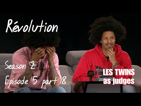 Révolution S02E05 Part 8 - Runoffs 1/3 Ann-Florence, Félix, Chloé, T.eenagers (Les Twins As Judges)