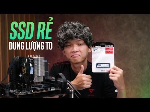 SSD giá rẻ siêu bền, xài tới già vẫn còn ngon chán!   Kingston NV1