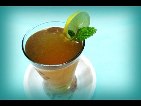 Lemon Tea Making In Telugu