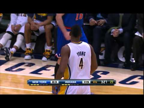 Sam Young Alley Oops To Tyler Hansbrough
