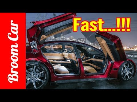 The 161mph Fisker EMotion  butterfly doors, big battery And quite fast - Broom Car