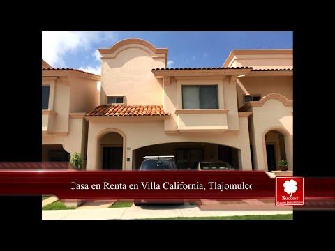 Casa en Renta en Villa California, Tlajomulco +4,000 inmuebles www.comprandoinmuebles.com