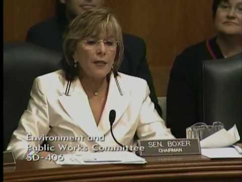 Senator Boxer Accused of Race Politics