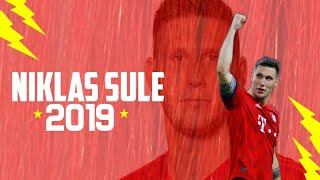 Niklas Sule 2018/2019 Monster Tackles,Goals, Skills and Interceptions||Defensive Wall