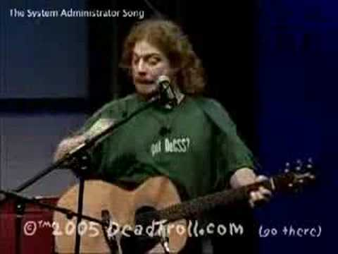 System Administrator's Day song