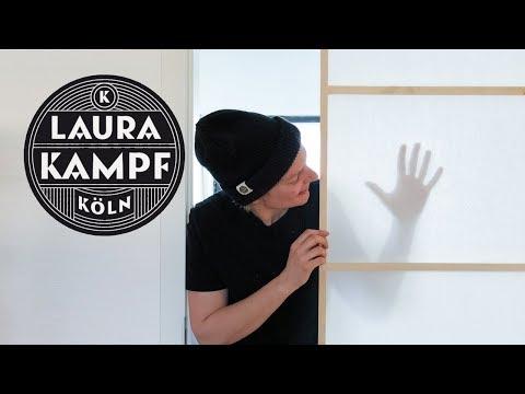 Simple Sliding Door with Shoji Paper
