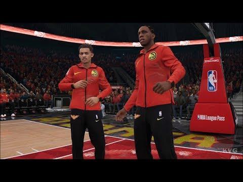 NBA Live 19 - Atlanta Hawks vs Cleveland Cavaliers - Gameplay (HD) [1080p60FPS]