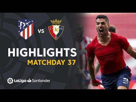 Resumen de Atlético de Madrid vs CA Osasuna (2-1)