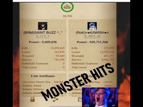 Clash Of Kings -  KVK KD1296 Vs KD129 & Monster MV